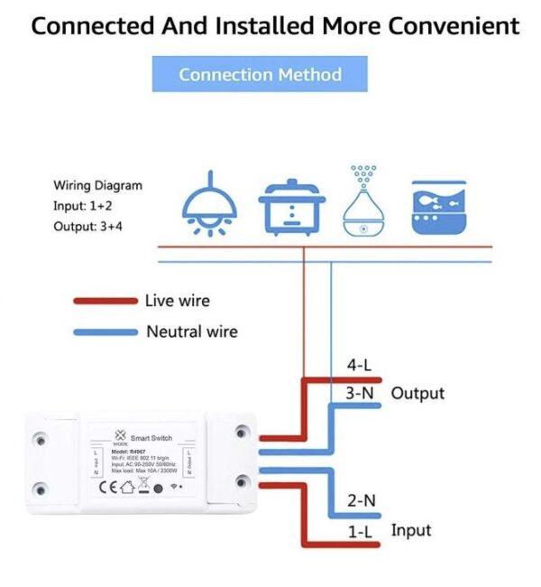 WOOX Smart prepínač