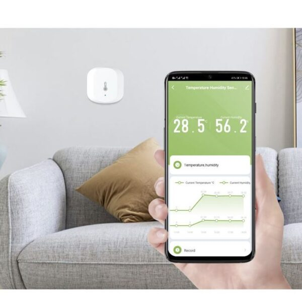 Smart senzor teploty a vlhkosti